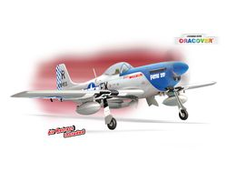 PHMUSTANG-50CC Phoenix P-51 Mustang Scale Model for 40-55cc