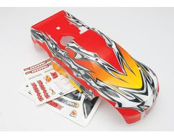 38-4916-2 Body tmaxx red+decals (AKA TRX4916-2)