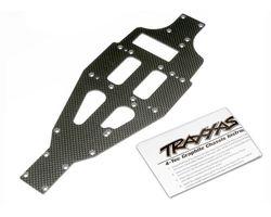 38-4322X Lower chassis graphite (AKA TRX4322X)