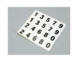 LOSB1011 Mini-T Number Sheet (0-9)