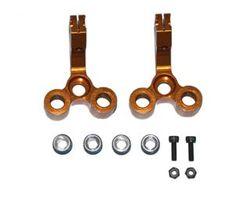 SEVX3461GO Bv1 pro rear wheel hub (gold aluminium)