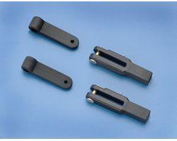 DBR878 Heavy Duty Control Arms & Clevises (.40-.91)