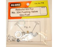 DBR718 Rebuild Kit #334 Fuel Valve Glo (1 pc per pack)