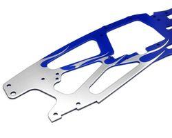 HPI-73938  HPI flamed tvp chassis silver/blue