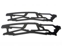 HPI-73818  HPI tvp chassis graphite 3mm 2pcs