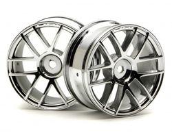 HPI-3797  HPI 26mm wheel split 6 chrome