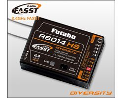 FUTR6014HS Futabar6014hs 14-channel 2.4ghz fasst receiver