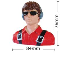 PHA-80024B Phoenix 1/7 scale civilian shoulder bust with head
