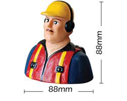 PHA-80020B Phoenix 1/7 scale civillian  pilot shoulder bust