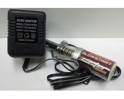 CA CR3-0002-02 CASTER Racing 2100mAh Glow Starter w/240V Charger
