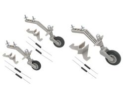 DBR956 Semi Scale Tail Wheel System 40-90 aircraft