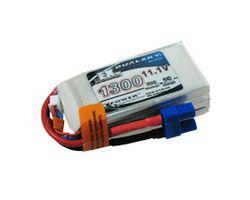 DSBXP13003EX Dualsky 11.1v 1300mah  5c charge w/dc3