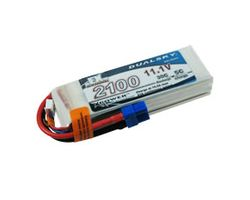 DSBXP21003EX Dualsky 2100mah - 11.1v,  5c charge w/dc3