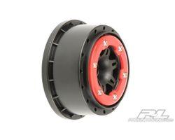 """PR2715-04 Split six 2.2""""/3.0"""" rear slash bead loc wheels"""