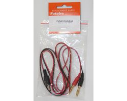 FUT4PKCHGLEAD 4PK/6J to Banana Plug 4mm Charge Lead