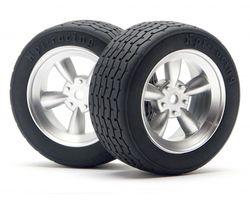 HPI-4793  HPI vintage racing tire 26mm d-compound VTA Legal
