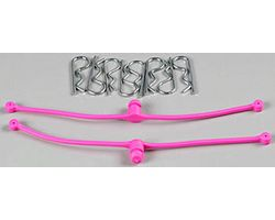 DBR2251 Body Klip Retainers (Pink) 2pcs