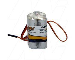 4/HR-3UTG SQ-JR 4.8volt 2000mAh Eneloop Square W/JR plug