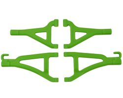 RPM80694 Front Upper/Lower A-arms-Traxxas1/16th Revo- Green