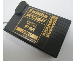 FUTR136F36 Futabar136f 6 channel fm receiver 36mhz