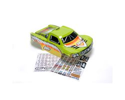LOSB8081 Losi Strike Painted Body w/Stickers, Green