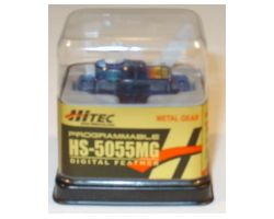 HTHS-5055MG HS-5055 FEATHER SERVO 8g Blue Colour Case