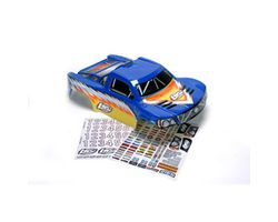 LOSB8080 Strike Painted Body with Stickers, Blue