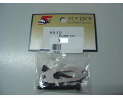 903D Fun tech 90-3d muffler screw set with gasket