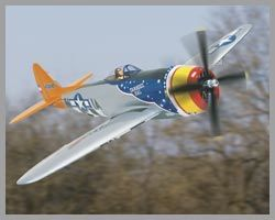 "TOP-A0703 ""p47d thunderbolt 85 in (2160 mm) arf"