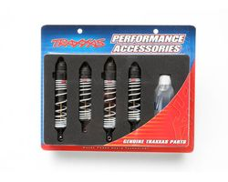 38-5862 Big Bore shocks (hard-anodized&Teflon-coated T6)  (AKA TRX5862)
