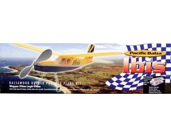 PB-IBIS Pacific Balsa Rubber Powered high wing plane Kit