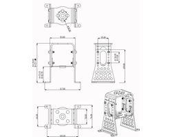 15727618 A60-Alu-Motormount-Set complete