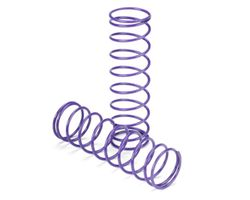 "LOSA5462 15mm Springs 3.1"" x 4.3 Rate, Purple"