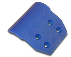 RPM80235 Assoc. gt2,b4 & t4 wide front bumper blue