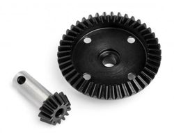 HPI-86922  machined heavy duty bevel gear 43t / 13t set