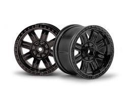 HPI-3264  ringz wheel black chrome (83x56mm / 2pcs)
