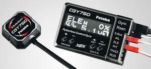 FUTCGY750 GY750 Flybarless Control Gyro w/Governor Set