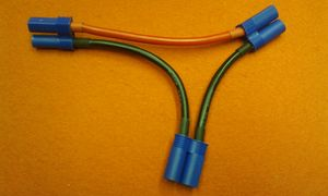 EFLAEC508 EC5 Battery Series Harness, 10Awg
