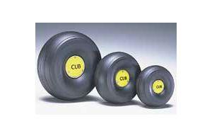DBR425TLC 1/4 Scale Tred Lght J3 Wheels  (1 pair per card)
