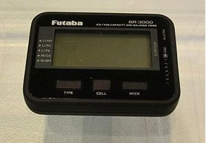 FUTBR3000 Futaba BR3000 Battery Checker