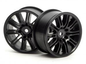 HPI-3771 10 spoke motor sport wheel (black)