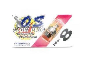 71608001 Glow Plug OS #8 Medium