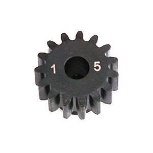 LOSA3575 1.0 Module Pitch Pinion, 15T: 8E,SCTE