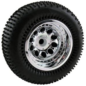 "RPM82043 Assoc. chrome ""revolver"" fr wheels"