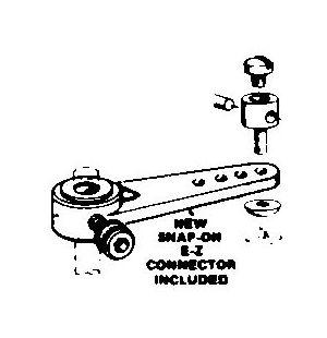 DBR155 1-1/4in Nylon Steering Arm Assem (1 pc per pack)