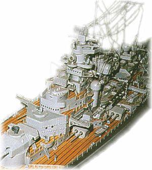 3619/00 Battleship Tirpitz