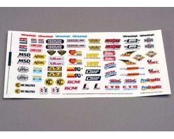 38-2514 Decal sheet rcing sponsr (AKA TRX2514)