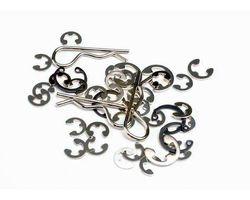 38-1633 E-clips/c-rings (AKA TRX1633)