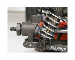 LOSA9855 1/2 degree graphite offset rr hubs suit jr-xs xxx-