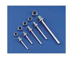 DBR246 1-1/4in L x 1/8in Dia Axle Shafts (2 pcs per pack)